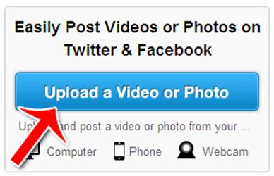 *How to Easily Post Videos or Phots Or Twitter & Facebook*