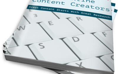 A Research Guide for Online Content Creators
