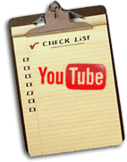 YouTube Kick-Start Checklist